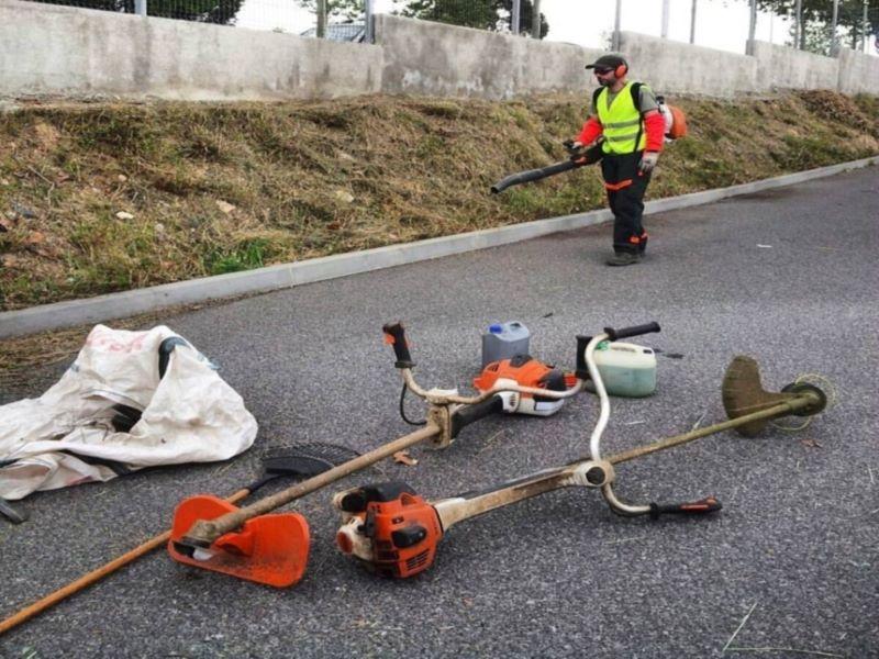 desdroce y limpieza mala hierba Tarragona