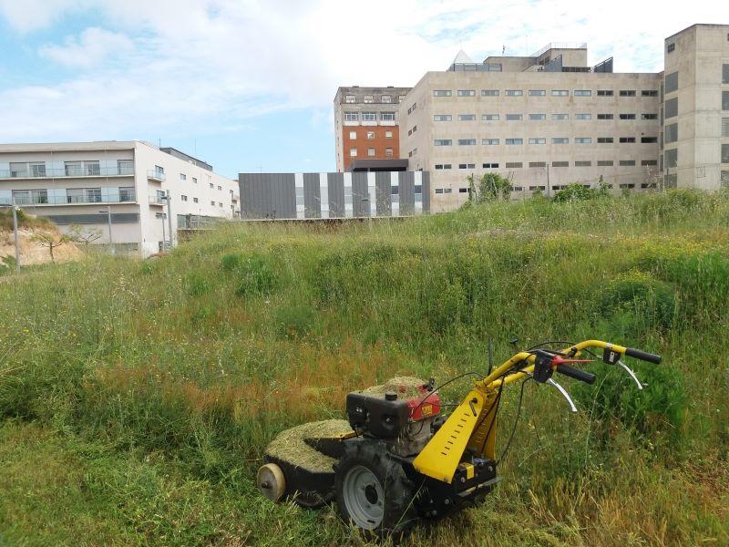 Desbroce terreno Hospital de Tarragona