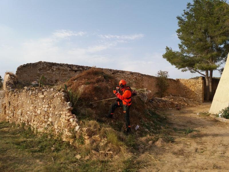 limpieza terreno en Valls
