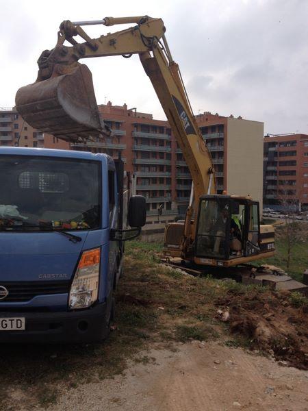 Camion, empresa jardineria en Tarragona