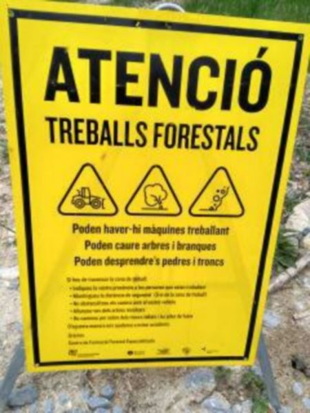 Treballs Forestals provincia de Tarragona