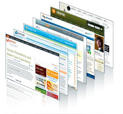 Diseño de páginas web de todo tipo.