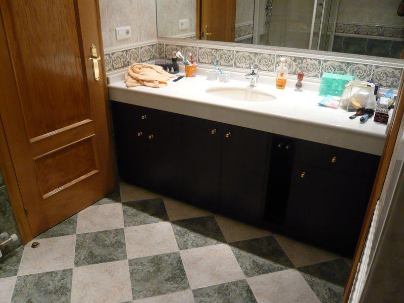 Muebles ba o for Banos color marmol