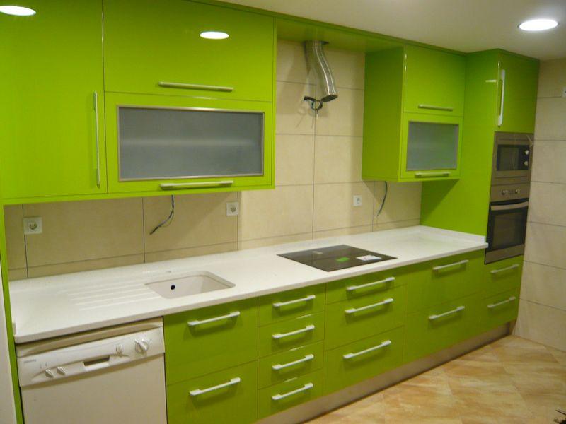 Mueble para horno y microondas good mueble de cocina for Mueble horno y microondas