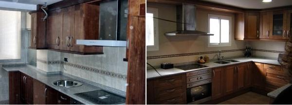 Muebles de cocina hasta el techo o no ideas for Muebles de cocina de 70 o 90