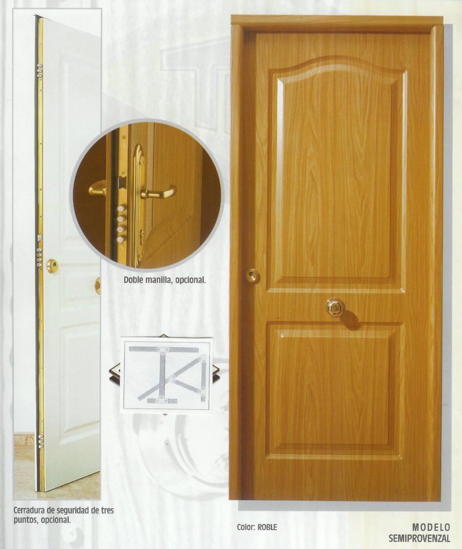 Colores de puertas de madera colores de pintura de for Puerta que abre para los dos lados