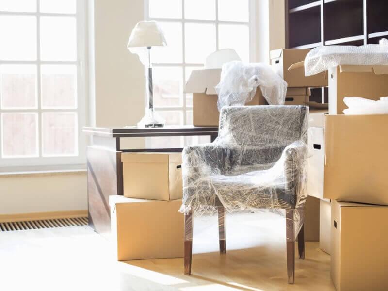 Desmontaje y embalado en mudanzas y traslados