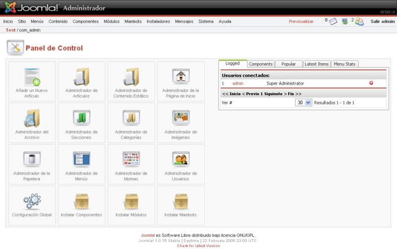 Diseño web profesional Joomla!