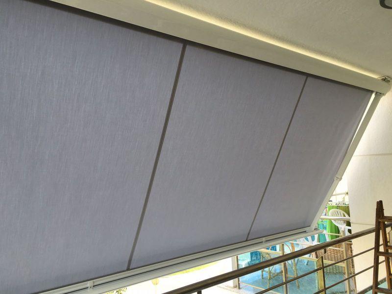 Toldo cofre balcón